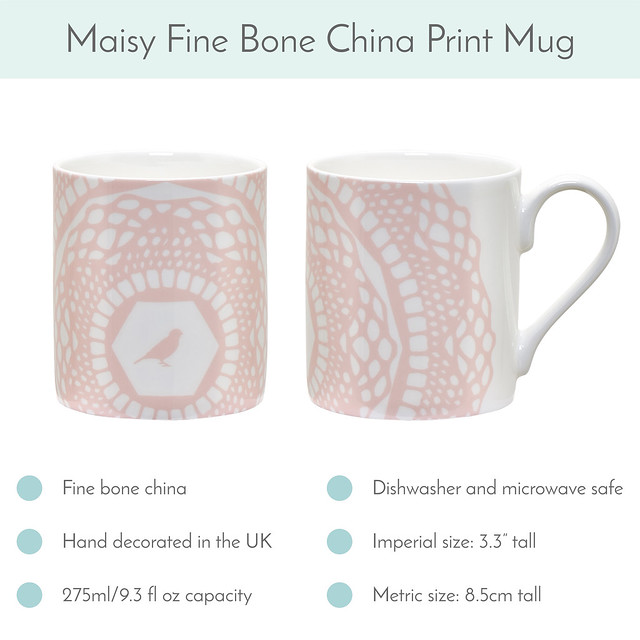 Cloud Pink Maisy Mug available now!