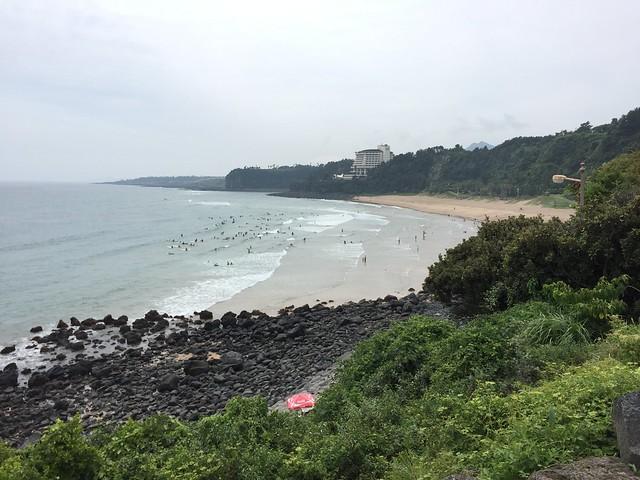 Jeju Island beach
