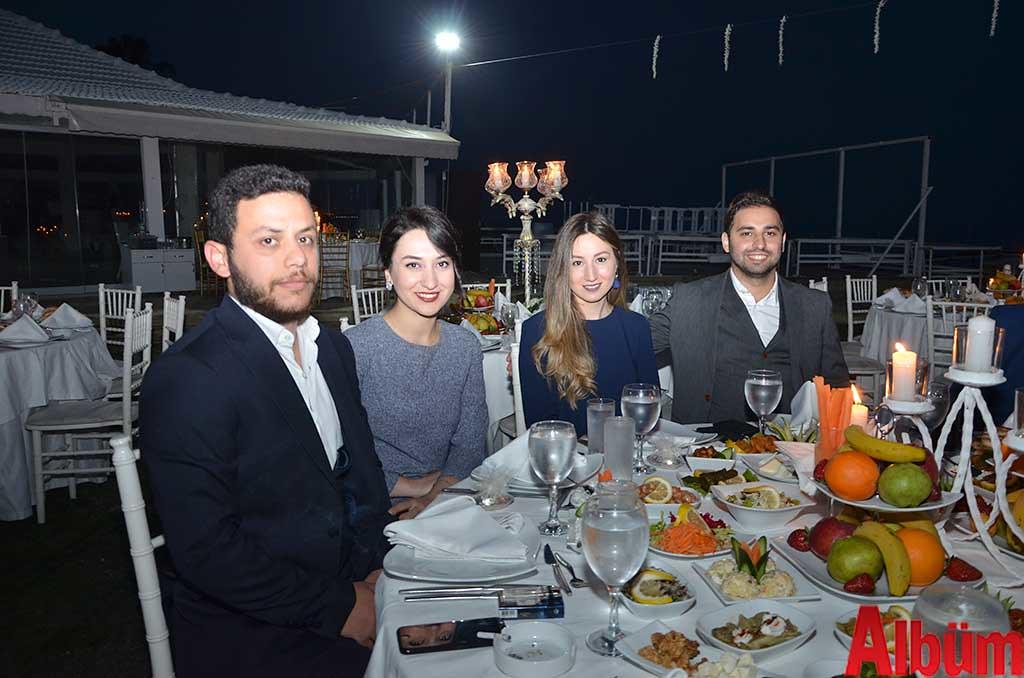 Mustafa Yalçın, Betül Çölemen, Fulya Kuzukıran, Deniz Kuzukıran