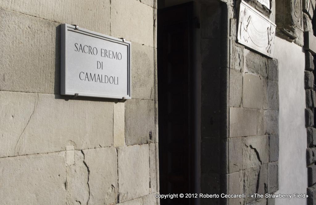 L'ingresso dell'eremo di Camaldoli