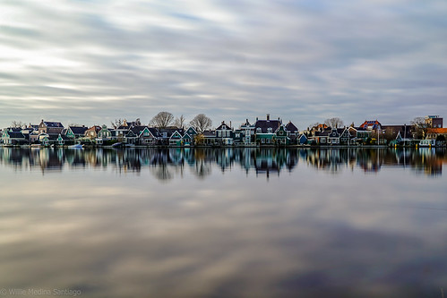 Zaanse Schans Reflection