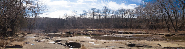 A Very Dry Sand Creek Panorama