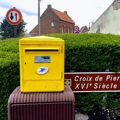L'ancienne cité minière Croix de Pierre à Déchy