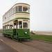 Blackpool heritage tram 147