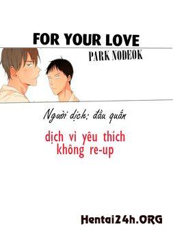 [Truyện tranh gay] Vì tình yêu của anh