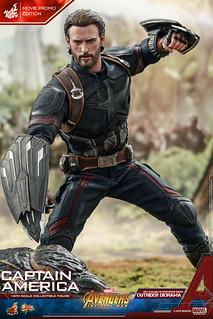 【神秘武器、限定武器公開!】Hot Toys - MMS481 - 《復仇者聯盟:無限之戰》1/6 比例 美國隊長(電影宣傳版) Avengers: Infinity War Captain America(Movie Promo Edition)