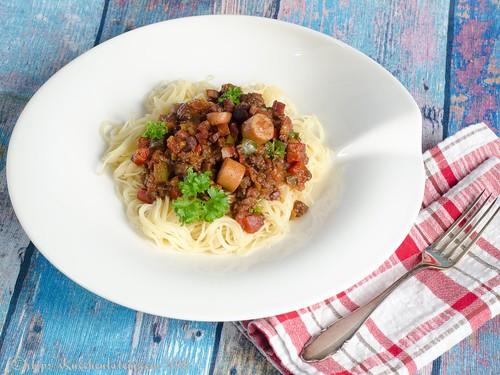 Spaghetti auf philippinische Art (2)