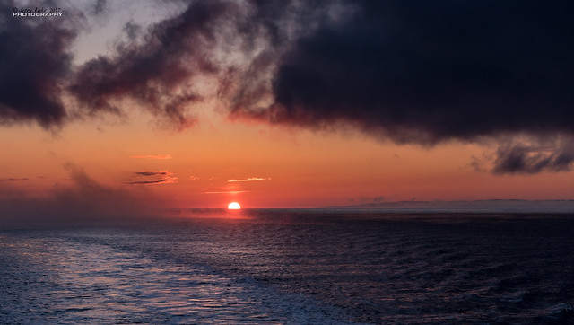 Vadso - Barents Sea sunrise