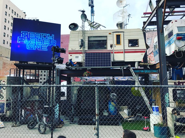 Ready Player One Exhibit: Hollywood &Vine