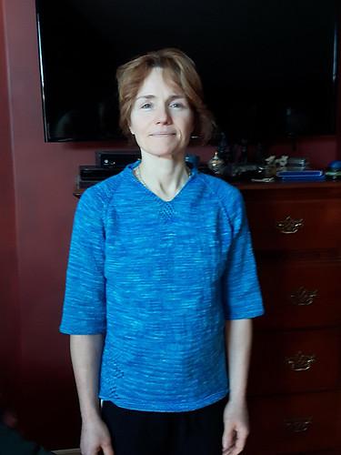 Linda's Gabbro by Carol Feller
