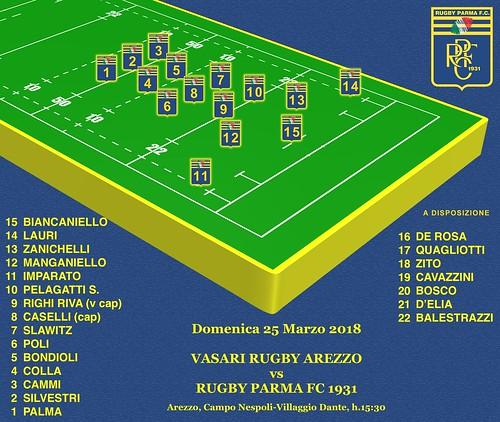 Arezzo vs RPFC