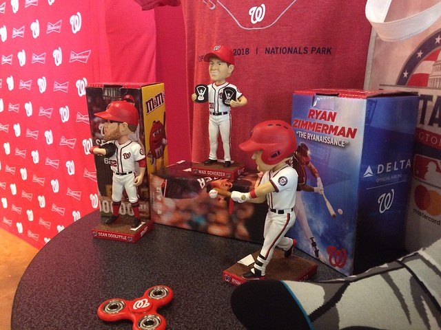 Nationals 2018 Bobbleheads