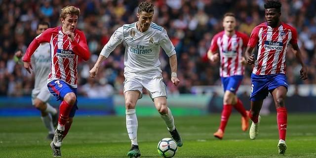Duel Antara Real Madrid vs Atletico Madrid Berakhir Dengan Skor 1-1