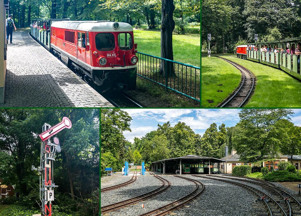 Дрезденская пионерская железная дорога