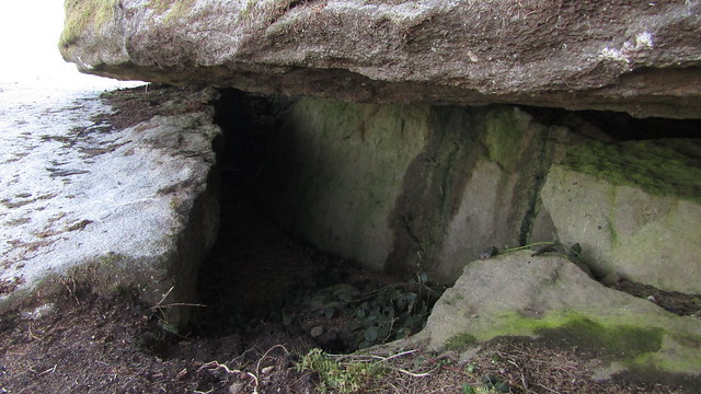 Shillyrock (William Crossings' Druid's Altar) - Cave