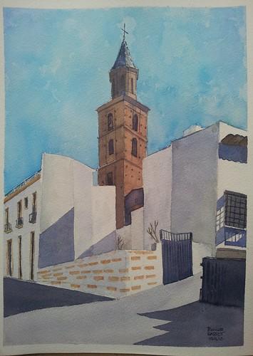 Iglesia de Fondón,  Almería.