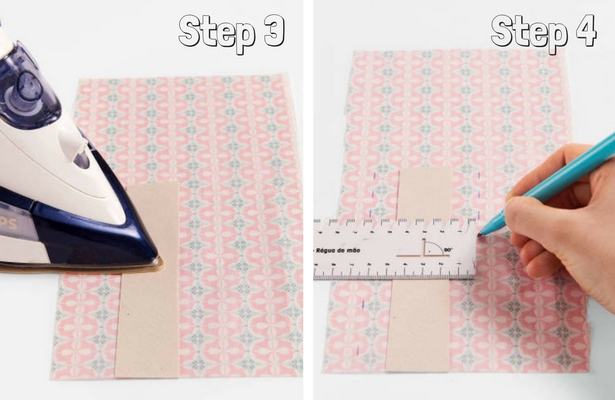 DIY Binder Book Mark Steps 3 4