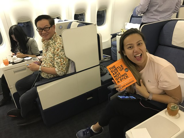 PAL flight to Manila,  March 22, 2018