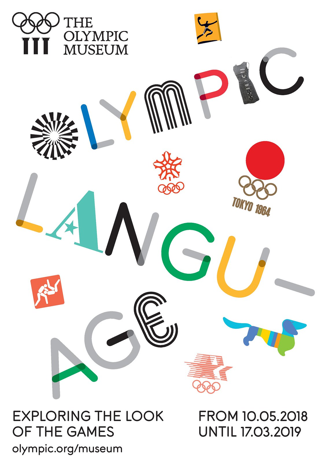 """ OLYMPIC LANGUAGE - exploring the Look of the Games"" from 10.05.2018 until 28.03.2019"