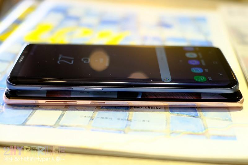 Samsung S9+ 藍色開箱 | 分享蘋果轉移安卓心得,拋開iOS 10年束縛,擁抱發揮更多創意的可能。加碼Note 8粉色開箱,兩者旗艦都很棒! @強生與小吠的Hyper人蔘~