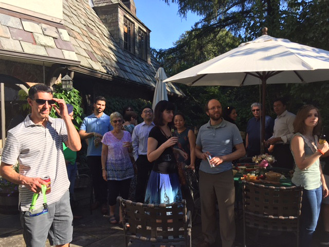 Annual Welcome Picnic at Dr. Constine's Home