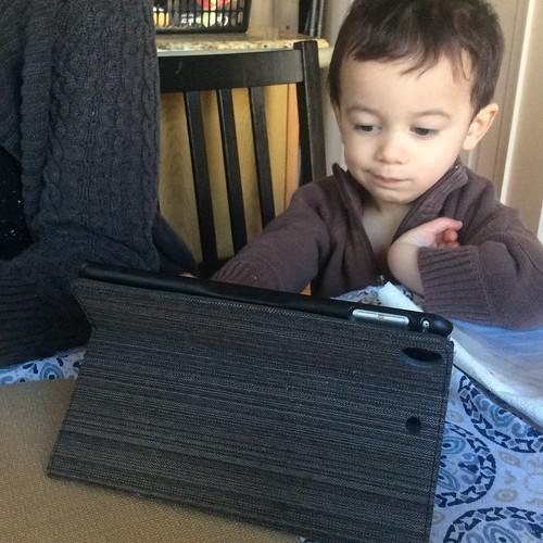 Ezra on iPad