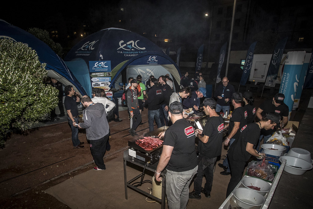 ERC Welcome reception, during the 2018 European Rally Championship ERC Azores rally,  from March 22 to 24, at Ponta Delgada Portugal - Photo Gregory Lenormand / DPPI
