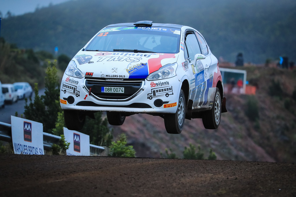 42 BROZ Dominik (cze),TESINKY Pietr,(cze) , PEUGEOT 208 R2 action during the 2018 European Rally Championship ERC Azores rally,  from March 22 to 24, at Ponta Delgada Portugal - Photo Jorge Cunha / DPPI