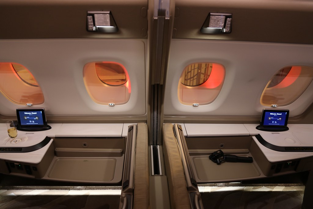 Singapore Airlines First Class Suites 34