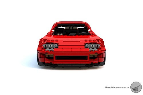 Toyota Supra front - 16-wide - Lego
