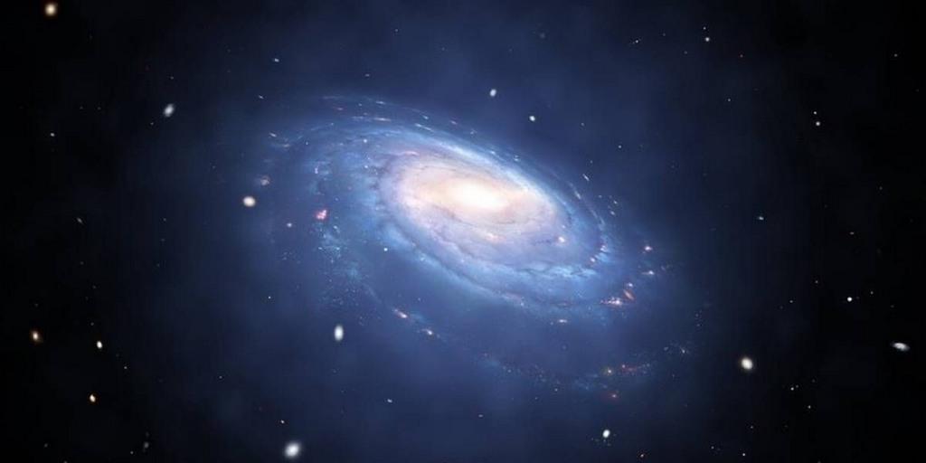 Cette galaxie sans matière noire ne correspond pas aux règles de l'espace