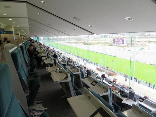 福島競馬場の5階C指定席