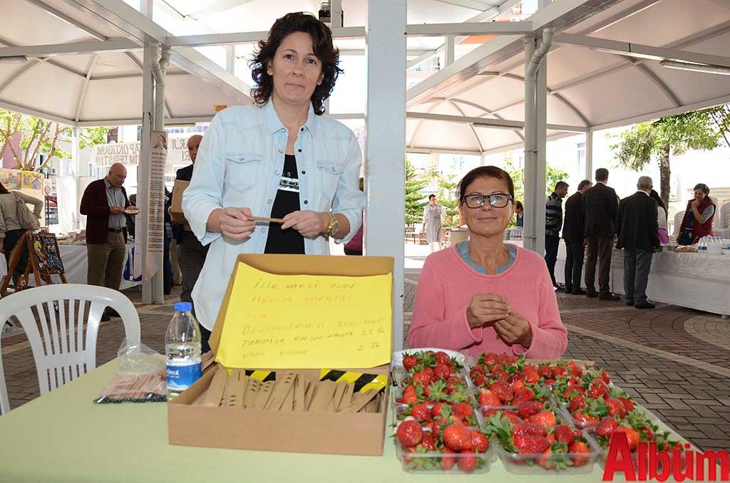 ÇYDD Bahar Kermesi'nde ilik nakli olan Melisa Karataş'a destek için de ürünler satışa sunuldu.