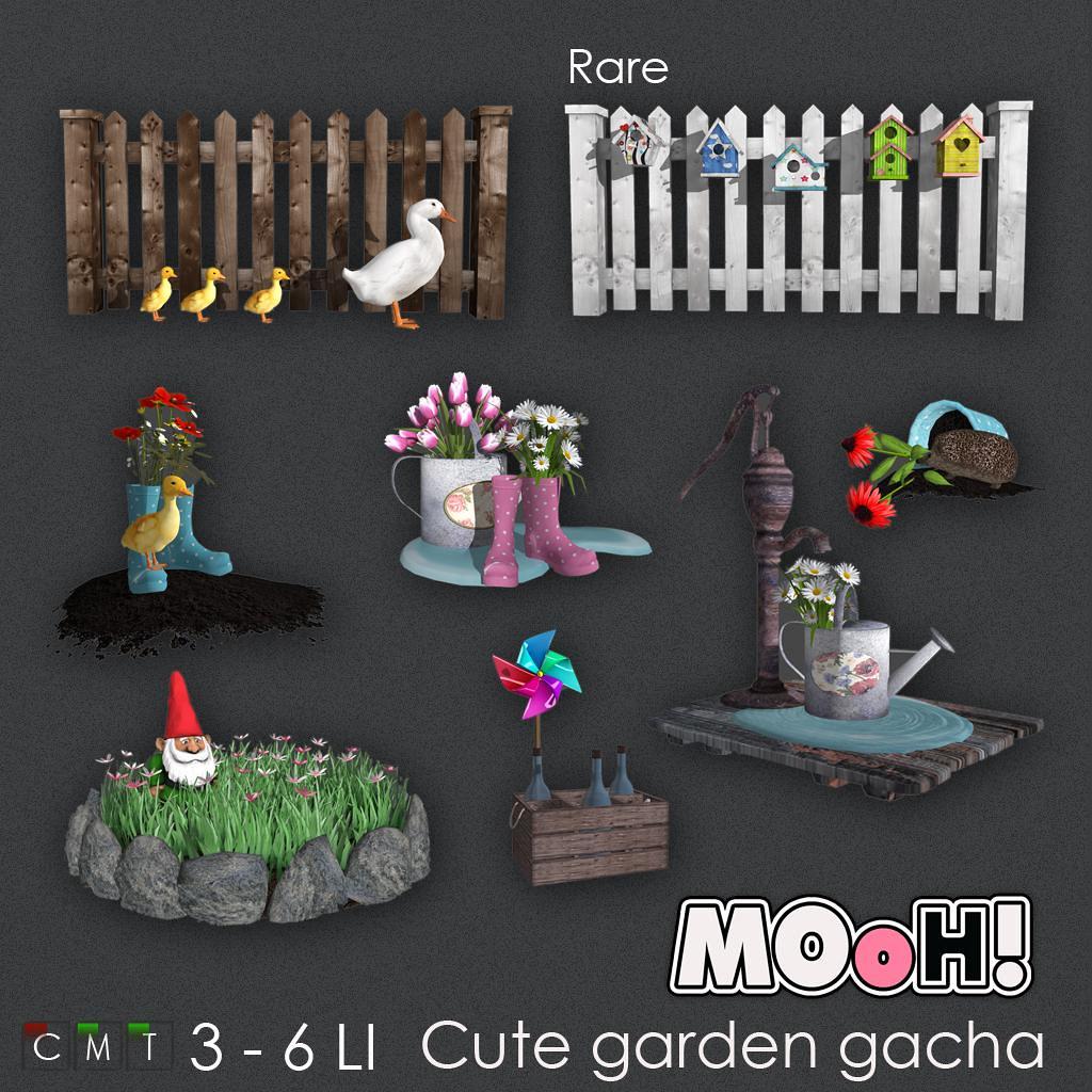 MOoH! Cute garden gacha