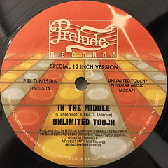 UNLIMITED TOUCH:I HEAR MUSIC IN THE STREETS(LABEL SIDE-B)