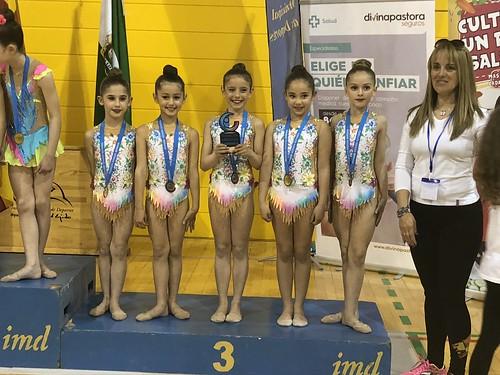 Club Gimnasia Rítmica Dos Hermanas campeonatos