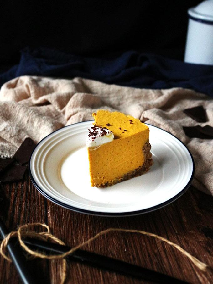 全素免烤南瓜派 (無麵粉) vegan-no-bake-pumpkin-pie (12)