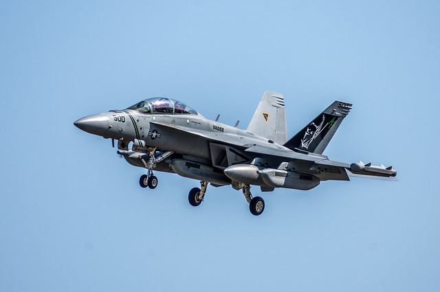 EA-18G Growler, VAQ-209 Star, Nikon D7200, Sigma 70-300mm F4-5.6 DG OS