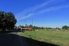 20120920 23 065 Jakobus Weg Häuser Bäume Wiese - Photo of Artagnan