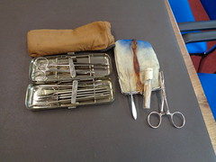 WWI field surgical set