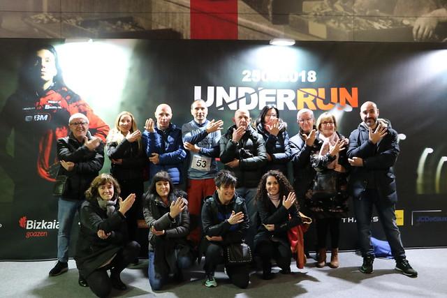 Under Run Metro Bilbao