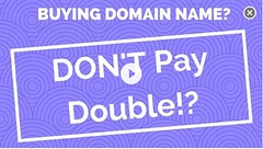 how to buy a domain name for free