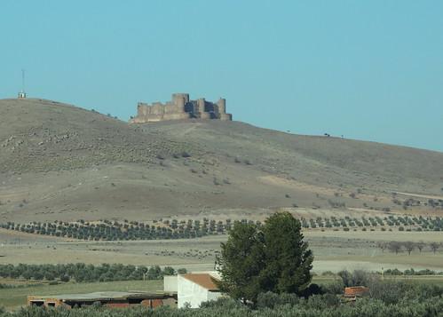 Hilltop castle, Castile-La Mancha