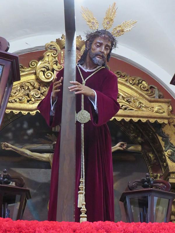 Agrupación Parroquial de Nº Padre Jesús Nazareno, Santa Cruz en Jerusalén y Mª Santísima de la Concepción. UN PASO