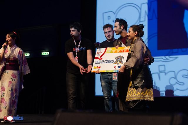 Romics Cosplay Award aprile 2018