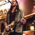 Tue, 06/03/2018 - 8:42pm - Producer, songwriter, guitarist Jonathan Wilson and his band perform for WFUV members at Electric Lady Studios in New York City. 3/6/18 Hosted by Rita Houston. Photo by Gus Philippas/WFUV