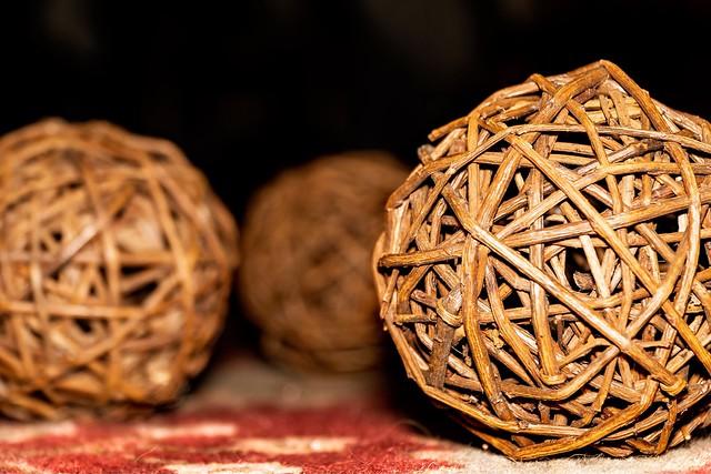 More Wicker Balls
