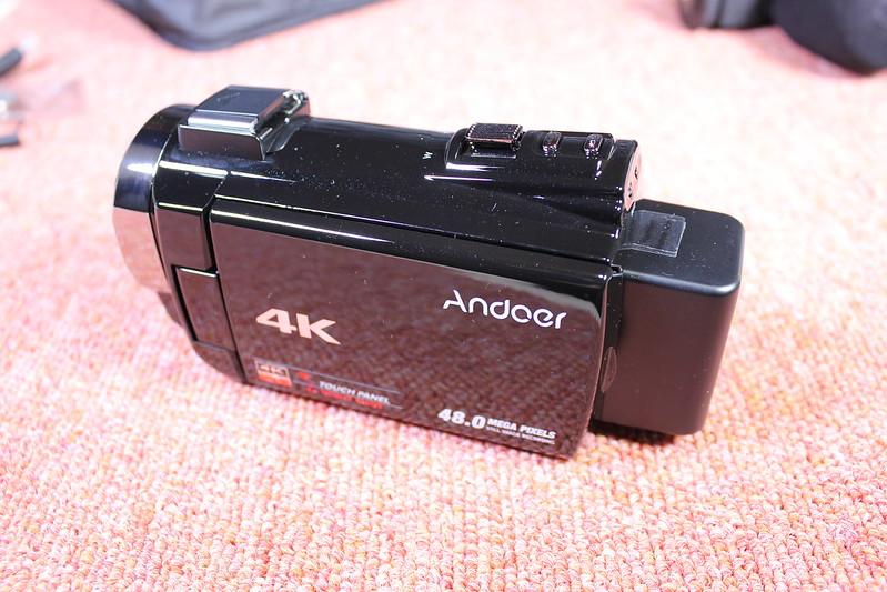 TOMTOP Andoer 4K ビデオカメラ 開封レビュー (51)