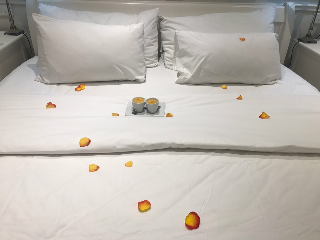 Desserts on Bed
