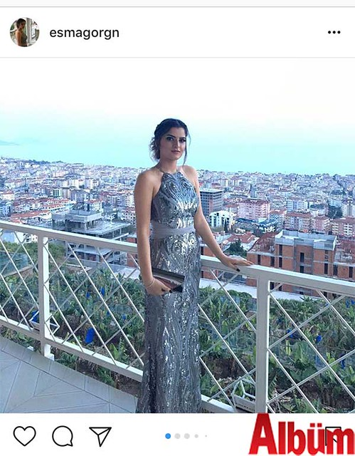 Esma Görgün, ablasının düğün töreninden yaptığı bu paylaşımdaki şıklığıyla takipçilerinin beğenisini topladı.